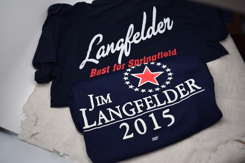 Jim Langfelder Mayoral Campaign Shirt