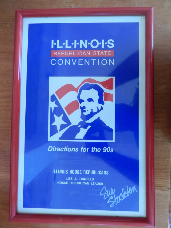 Illinois Republican State Convention Poster