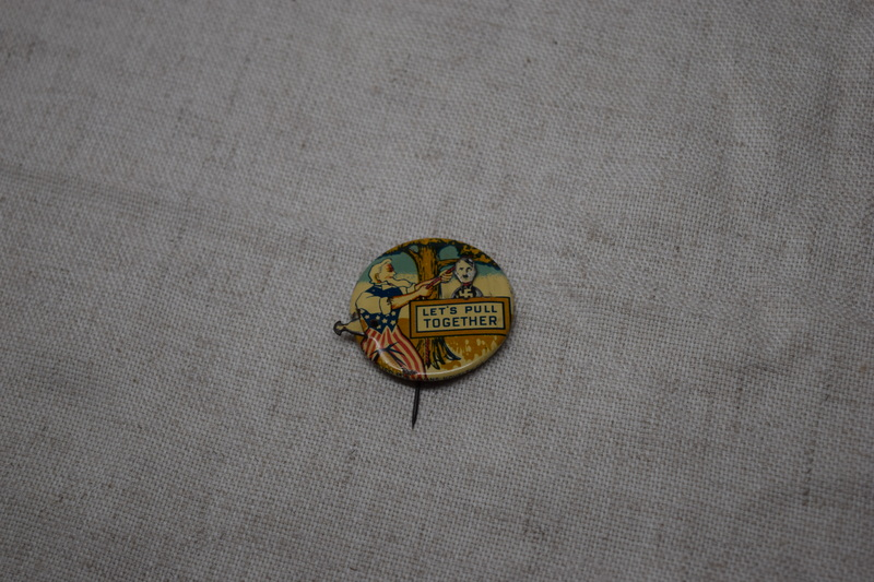 World War II Political Button