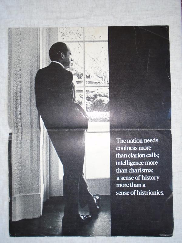 Richard Nixon Coolness Poster