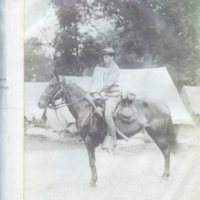 Roger E. Chapin at the National Guard Camp during Race Riots.