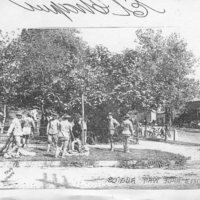 The National Guard camp during the Springfield Race Riots