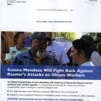 Mailing for Susana Mendoza as Illinois Comptroller