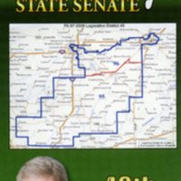 Flyer for Mike McElroy as State Senator